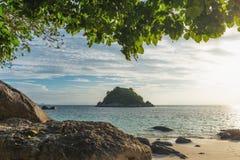 Koh Lipe, situato nel mare delle Andamane della Tailandia, parte di Tarutao Marine Park, provincia di Satun Fotografia Stock Libera da Diritti