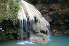 Koh lung waterfall Royalty Free Stock Photos