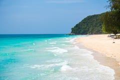 Koh Mai Thon Honeymoon Island, Phuket, Tailândia imagens de stock