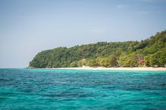 Koh Mai Thon Honeymoon Island, Phuket, Tailandia fotos de archivo libres de regalías