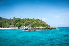 Koh Mai Thon Honeymoon Island Phuket, Thailand arkivbild