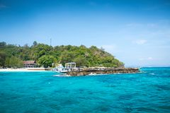 Koh Mai Thon Honeymoon Island, Phuket, Thailand stockfotografie