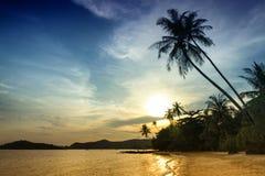 Koh Mak beach in Thailand. Stock Photos