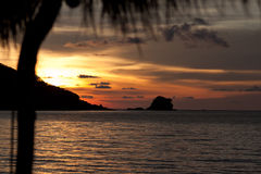 Koh Mak Sunset Stock Photo