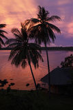 Koh Mak sunset Stock Images