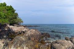 Koh Mook Coast Line Foto de archivo libre de regalías