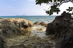 Koh Mook Coast Line Imágenes de archivo libres de regalías