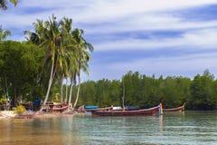 Koh Mook Coast Line Imagen de archivo