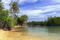 Koh Mook Coast Line Foto de archivo