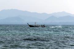 Koh Mook Coast Line Barco Fotos de archivo libres de regalías
