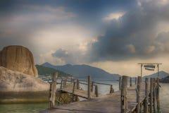 Koh nang yuan νησί, Σουράτ, Ταϊλάνδη Στοκ Εικόνες