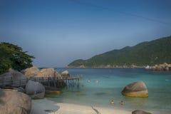 Koh nang yuan νησί, Σουράτ, Ταϊλάνδη Στοκ φωτογραφία με δικαίωμα ελεύθερης χρήσης