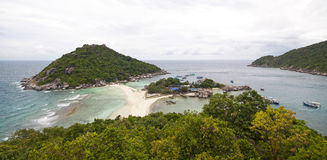 Koh Nang yuan Island Royalty Free Stock Images