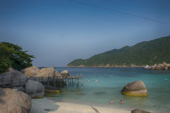 Koh nang yuan Island,Surat,Thailand Royalty Free Stock Photo