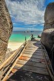 Koh Nang Yuan Island, Thaïlande Image libre de droits
