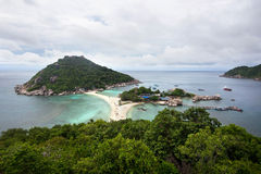 Koh Nang Yuan Island, Thaïlande Photo stock