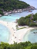 Koh Nang Yuan Island, Thaïlande Image stock