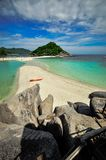 Koh Nang Yuan, Kho Tao Island, Thailand Stock Images