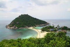 Koh Nang Yuan - Koh Tao - Thailand Arkivfoto