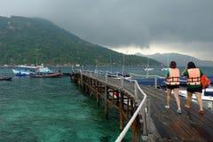Koh Nang-Yuan, Nang-Yuan Insel Lizenzfreie Stockbilder