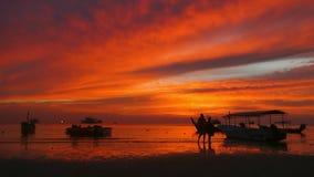 Koh Nang Yuan près de Koh Tao, le golfe de Thaïlande, Thaïlande, Asie clips vidéos