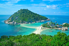 Koh Nangyuan Royalty Free Stock Photography