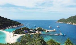 Koh Nangyuan Fotos de Stock Royalty Free