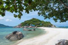Koh NangYuan island Stock Images