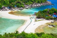 Koh Nangyuan island, Suratthani, Thailand Stock Photo