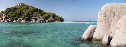 Koh Nangyuan island, Thailand. Beautiful island in a Andaman sea Stock Image