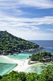 Koh Nangyuan Island Viewpoint. The scene of Thailand about Koh Nangyuan Island Viewpoint Stock Photos