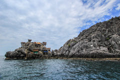 Koh Ngam Noi,Chumphon Islands National Park. Located in Chumphon Province,southern Thailand,offer some of the best diving spots in the Gulf of Thailand, with Royalty Free Stock Images