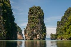 Koh Panak Island at Phang Nga Bay Stock Photo