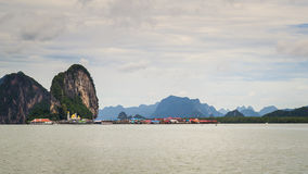Koh Panyee (Panyee Island), Phang Nga, Thailand Royalty Free Stock Image
