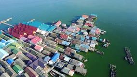Koh Panyee, Phang Nga, Таиланд Стоковая Фотография RF