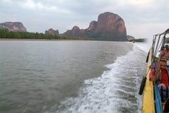Koh Panyee at Phang Nga Bay, Thailand Stock Photo