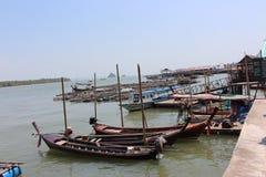 Koh Panyee, Phang Nga, Thaïlande Images libres de droits