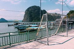 Koh Panyee, Phang Nga, Thailand Stock Photography