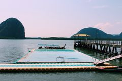 Koh Panyee, Phang Nga, Thailand Royalty Free Stock Photo