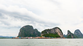 Koh Panyee or Punyi island, Thailand Stock Photos