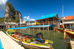 Koh Panyi Krabi Royalty Free Stock Photo