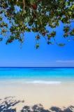KOH 4, parco nazionale delle isole di Similan, provincia di Phang Nga, Tailandia del sud Con la spiaggia bianca, bella acqua Fotografia Stock Libera da Diritti