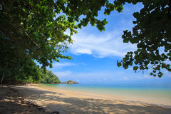 Koh Payam. Payam Beach in Andaman Sea Stock Photos