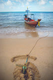 Koh Pha Ngan, Ταϊλάνδη Στοκ φωτογραφία με δικαίωμα ελεύθερης χρήσης