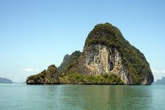 KOH Phanak, bahía de Phang Nga fotos de archivo