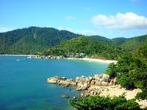 Koh Phangan. Beach in Thailand stock photos
