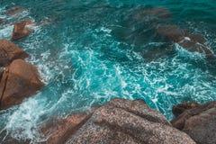 Koh Phangan island sea wallpaper. Cool sea wallpaper from koh Phangan island royalty free stock photography