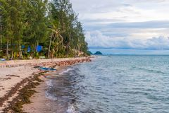 Koh Phangan island, Thailand. Coast of Koh Phangan island, Thailand stock photo