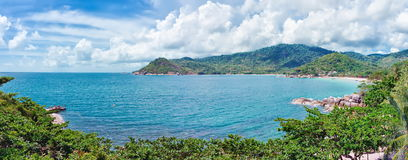 Koh Phangan island. Thailand. Koh Phangan island in the Gulf of Thailand stock photo