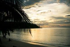 Koh Phangan oferuje piękne plaże obrazy royalty free